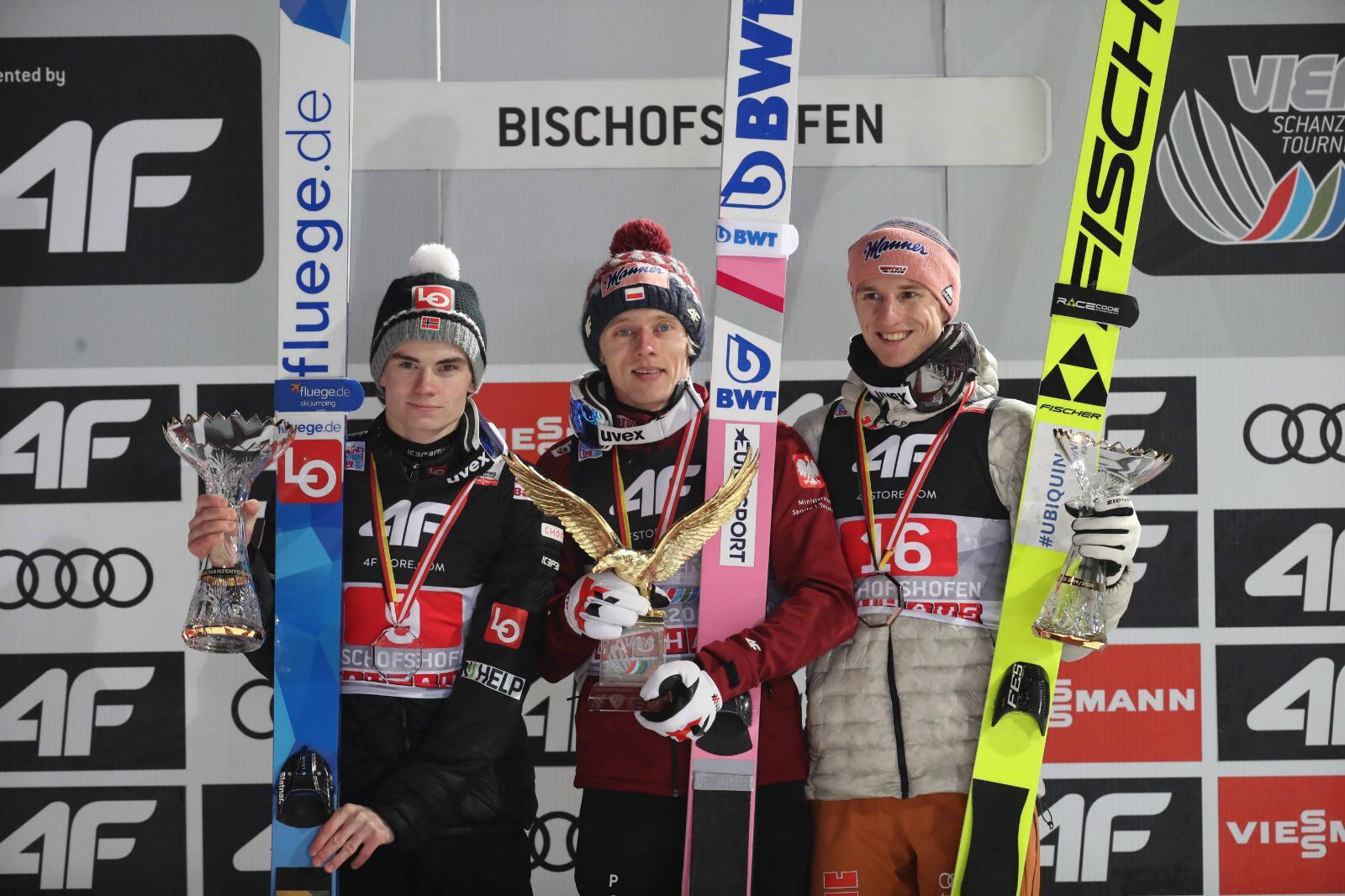 Tourneesieger Vierschanzentournee